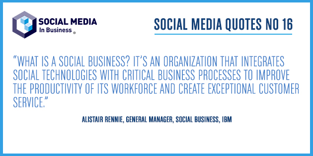 Social Media Quote – Alistair Rennie