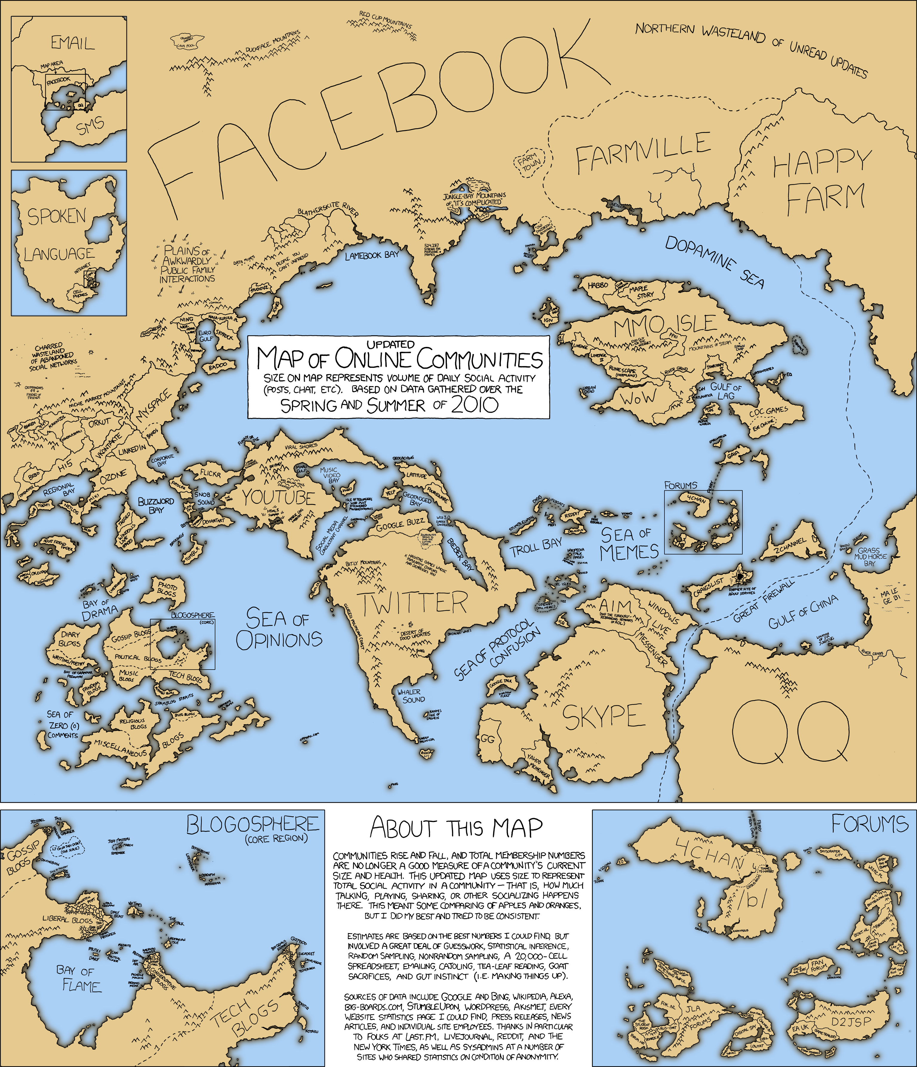map dating xkcd That crazy guy at xkcd have made a visual map representation of the internet based on user activity  the internet as a map  dating & relationships.