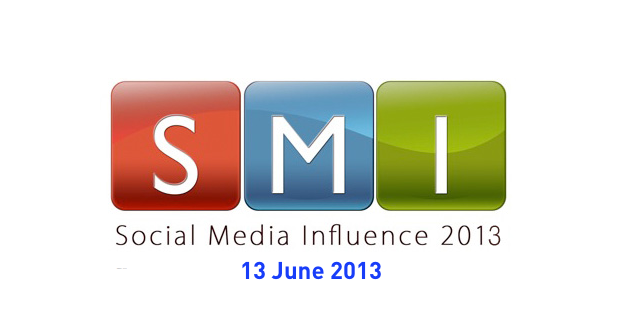 SOCIAL MEDIA INFLUENCE CONFERENCE – 13TH JUNE 2013