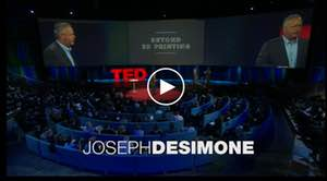 TED Talk - What if 3D printing was 100x faster?