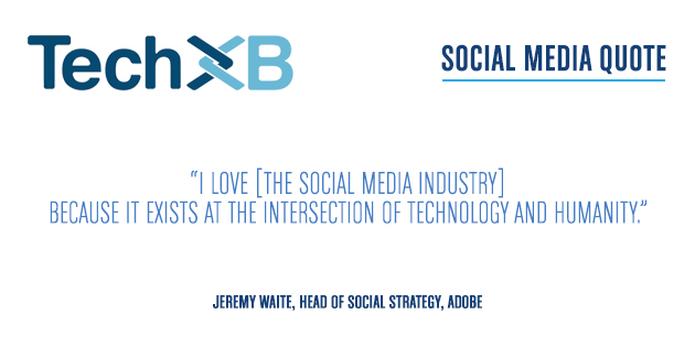 SOCIAL MEDIA QUOTE – JEREMY WAITE