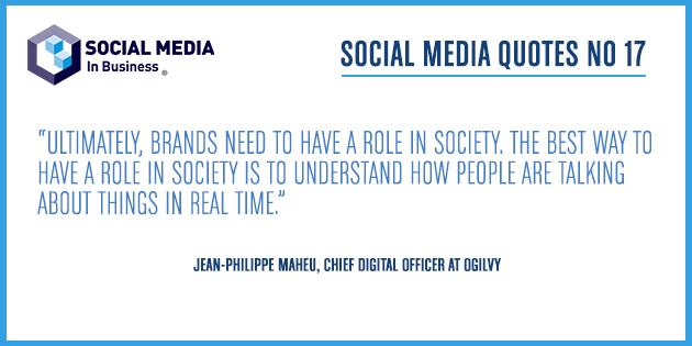 Social Media Quote – Maheu