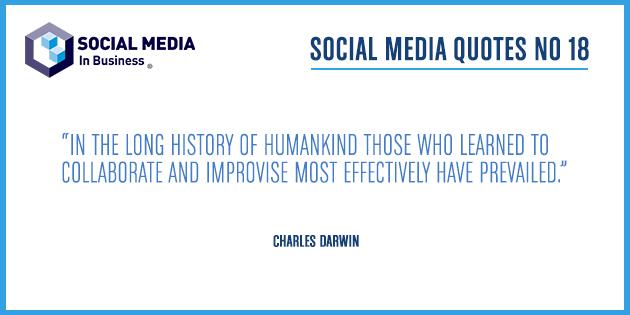 Social Media Quote – Darwin