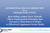 10 top Social Media tips for  CEO's